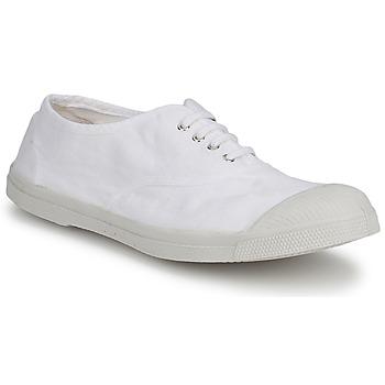 Zapatos Hombre Zapatillas bajas Bensimon TENNIS LACET Blanco