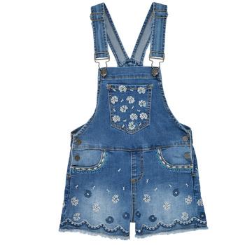 textil Niña Monos / Petos Desigual 21SGDD04-5053 Azul