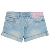 textil Niña Shorts / Bermudas Desigual 21SGDD05-5010 Azul