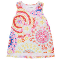 textil Niña Camisetas sin mangas Desigual 21SGCW02-3146 Multicolor