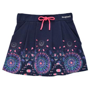 textil Niña Faldas Desigual 21SGFK03-5000 Azul