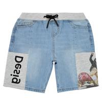 textil Niño Shorts / Bermudas Desigual 21SBDD02-5053 Azul