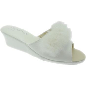 Zapatos Mujer Zuecos (Mules) Milly MILLY102bia bianco