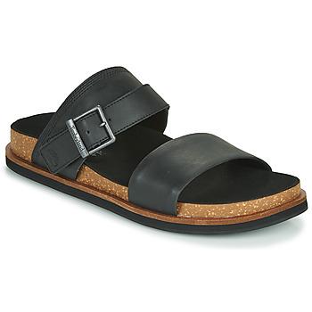 Zapatos Hombre Zuecos (Mules) Timberland AMALFI VIBES 2BAND SANDAL Negro