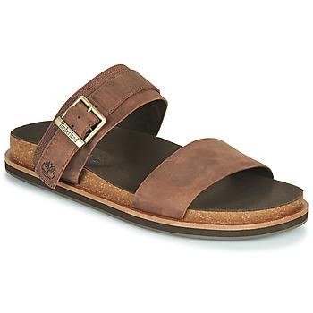Zapatos Hombre Zuecos (Mules) Timberland AMALFI VIBES 2BAND SANDAL Marrón