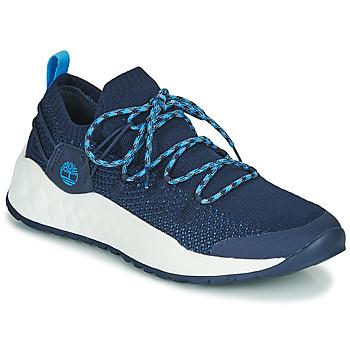 Zapatos Hombre Zapatillas bajas Timberland SOLAR WAVE LOW KNIT Azul