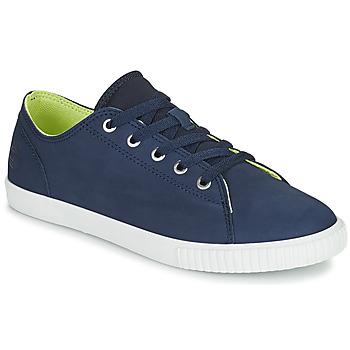 Zapatos Niños Zapatillas bajas Timberland NEWPORT BAY LEATHER OX Azul