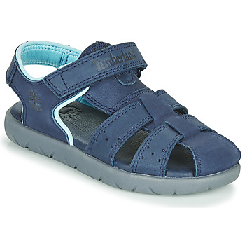 Zapatos Niños Sandalias Timberland NUBBLE LEATHER FISHERMAN Azul