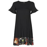 textil Mujer Vestidos cortos Desigual KALI Negro