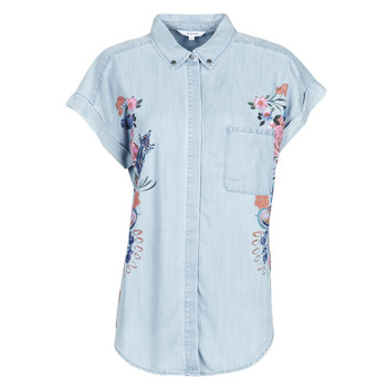 textil Mujer Camisas Desigual SULLIVAN Azul