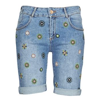 textil Mujer Shorts / Bermudas Desigual GRECIA Azul