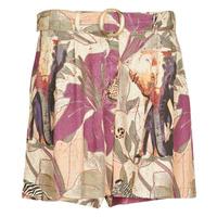 textil Mujer Shorts / Bermudas Desigual ETNICAN Multicolor