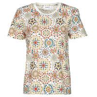 textil Mujer Camisetas manga corta Desigual LYON Blanco