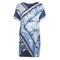 textil Mujer Vestidos cortos Desigual SOLIMAR Azul