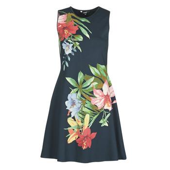 textil Mujer Vestidos cortos Desigual KILKENY Marino