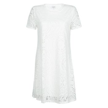 textil Mujer Vestidos cortos Desigual NILO Blanco