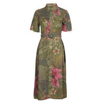 textil Mujer Vestidos largos Desigual ANGELA Kaki