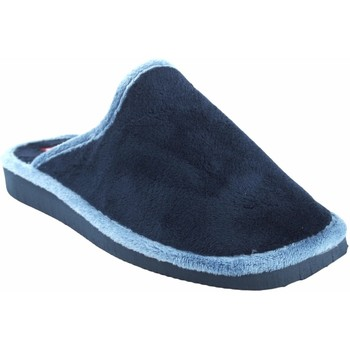 Zapatos Mujer Pantuflas Gema Garcia Ir por casa señora  2308-1 azul Azul