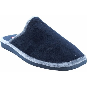 Zapatos Hombre Pantuflas Gema Garcia Ir por casa caballero  2306-1 azul Azul