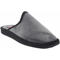 Zapatos Hombre Pantuflas Gema Garcia Ir por casa caballero  2306-1 gris Gris