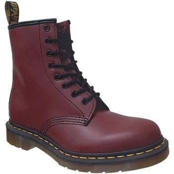 Zapatos Mujer Botas de caña baja Dr Martens 1460 smooth Burdeos