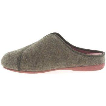 Zapatos Hombre Pantuflas Plumaflex By Roal Zapatillas de Casa Roal 9021 Beig Beige