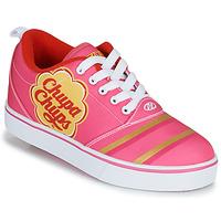 Zapatos Niña Zapatos con ruedas Heelys CHUPA CHUPS PRO 20 Rosa / Blanco