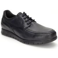 Zapatos Hombre Derbie Keelan Calzados Zapatos con cordones de piel by Casual Noir
