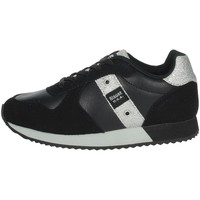 Zapatos Niña Zapatillas bajas Blauer LILLI02 Negro