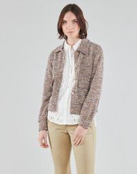 textil Mujer Chaquetas / Americana Cream CHANA JACKET Multicolor