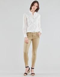 textil Mujer Pantalones con 5 bolsillos Cream HOLLY TWILL PANT Beige