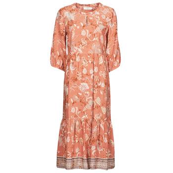 textil Mujer Vestidos largos Cream JOHUI DRESS Naranja