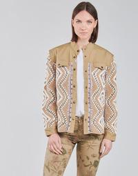textil Mujer cazadoras Cream SOLDE JACKET Beige