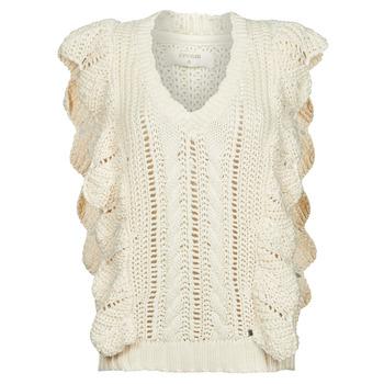 textil Mujer Jerséis Cream ANNOLINA KNIT SLOPOVER Blanco
