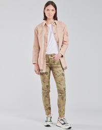 textil Mujer Pantalones con 5 bolsillos Cream LOTTE PRINTED Multicolor