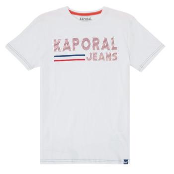 textil Niño Camisetas manga corta Kaporal EZIO Blanco