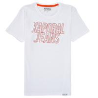 textil Niño Camisetas manga corta Kaporal MAIL Blanco