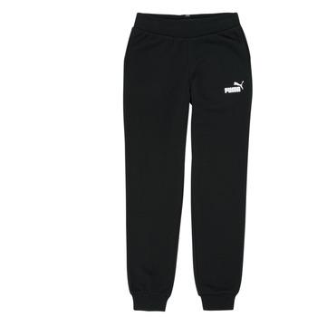 textil Niña Pantalones de chándal Puma ESS SWEATPANT Negro