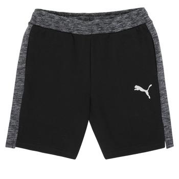 textil Niño Shorts / Bermudas Puma EVOSTRIPE SHORTS Negro