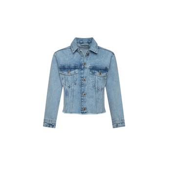 textil Niña Chaquetas denim Pepe jeans NICOLE JACKET Azul