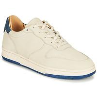 Zapatos Zapatillas bajas Clae MALONE Beige / Azul
