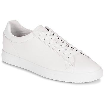 Zapatos Zapatillas bajas Clae BRADLEY Blanco