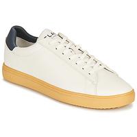 Zapatos Zapatillas bajas Clae BRADLEY CACTUS Blanco / Azul