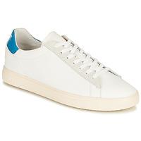 Zapatos Zapatillas bajas Clae BRADLEY CALIFORNIA Blanco / Azul