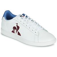 Zapatos Hombre Zapatillas bajas Le Coq Sportif MASTER COURT Blanco / Azul