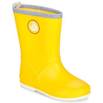 Zapatos Niños Botas de agua Be Only CORVETTE Amarillo