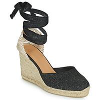 Zapatos Mujer Sandalias Castaner CARINA Negro / Oro