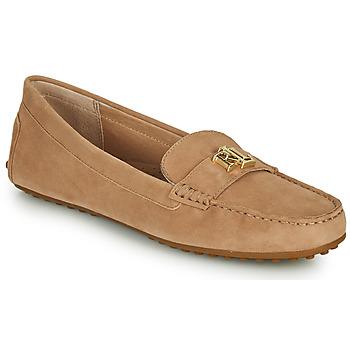 Zapatos Mujer Mocasín Lauren Ralph Lauren BARNSBURY FLATS CASUAL Beige