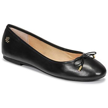 Zapatos Mujer Bailarinas-manoletinas Lauren Ralph Lauren JAYNA Negro