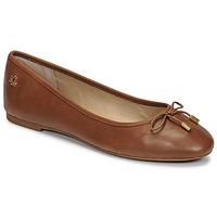 Zapatos Mujer Bailarinas-manoletinas Lauren Ralph Lauren JAYNA Cognac